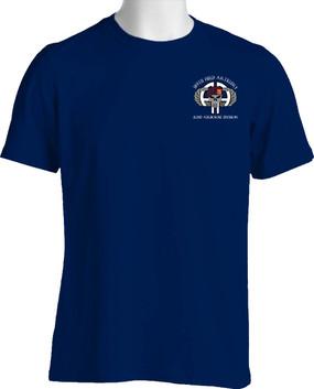 319th Airborne Field Artillery Punisher Cotton Shirt -Pocket