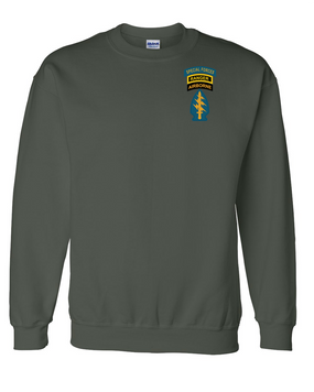 Triple Canopy Embroidered Sweatshirt