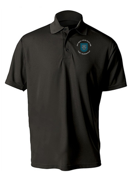 19th Special Forces Group  Embroidered Moisture Wick Polo (C)