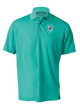 20th Special Forces Group  Embroidered Moisture Wick Polo (C)