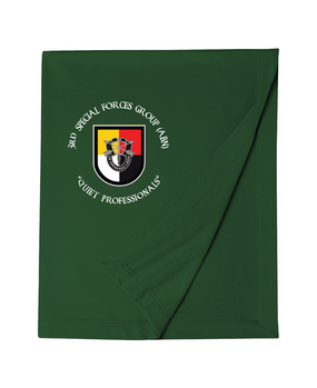 3rd Special Forces Group Embroidered Dryblend Stadium Blanket