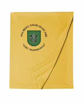 10th Special Forces Group Embroidered Dryblend Stadium Blanket