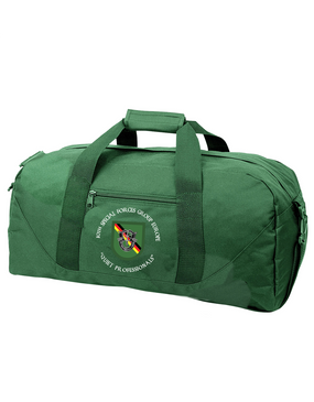 10th Special Forces Group (Europe)  Embroidered Duffel Bag