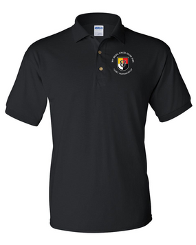 3rd Special Forces Group Embroidered Cotton Polo Shirt (C)