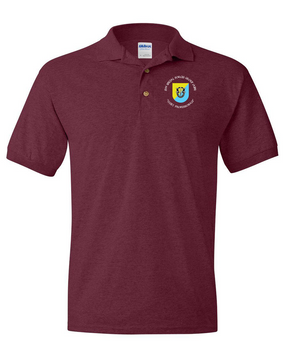 8th Special Forces Group Embroidered Cotton Polo Shirt (C)