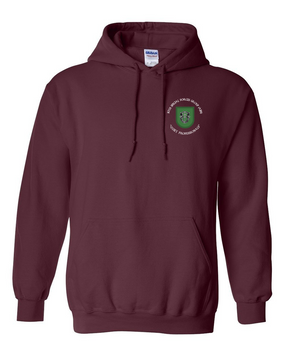 10th Special Forces Group  Embroidered Hooded Sweatshirt (C)