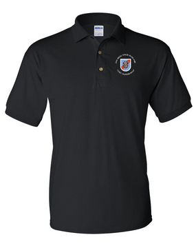 20th Special Forces Group Embroidered Cotton Polo Shirt (C)