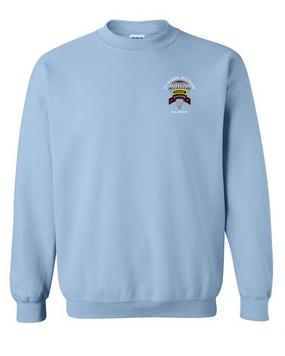 2-75th Ranger Battalion w/ Ranger Tab Embroidered Sweatshirt (C)