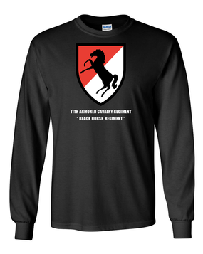 11th ACR Long-Sleeve Cotton Shirt (Chest)