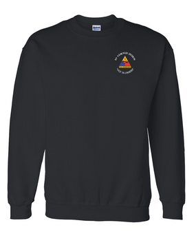 1st Armored Division Embroidered Sweatshirt (C)