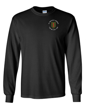 1st Infantry Division Long-Sleeve Cotton Shirt (C)