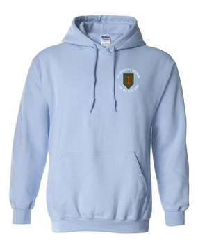 1st Infantry Division Embroidered Hooded Sweatshirt (C)