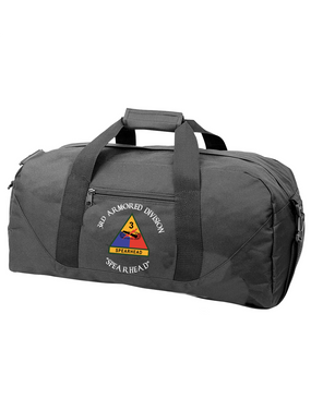 3rd Armored Division Embroidered Duffel Bag (C)