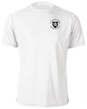 2nd Infantry Division Moisture Wick Shirt  (C)