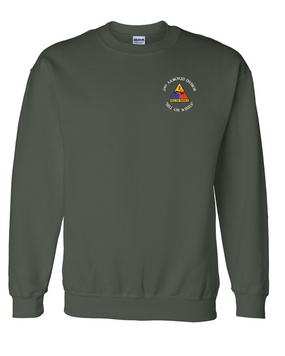 2nd Armored Division Embroidered Sweatshirt (C)