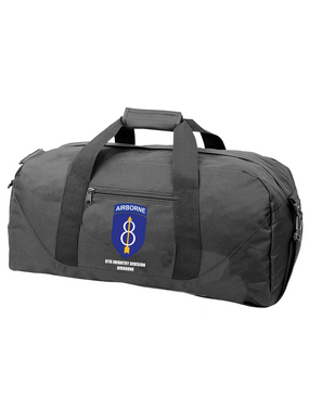 8th Infantry Division Airborne  Embroidered Duffel Bag
