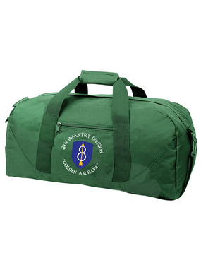 8th Infantry Division  Embroidered Duffel Bag (C)
