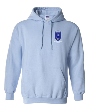 8th Infantry Division Airborne Embroidered Hooded Sweatshirt