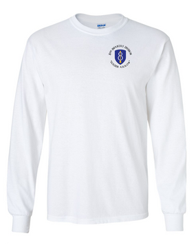 8th Infantry Division Long-Sleeve Cotton Shirt  -(C) (P)
