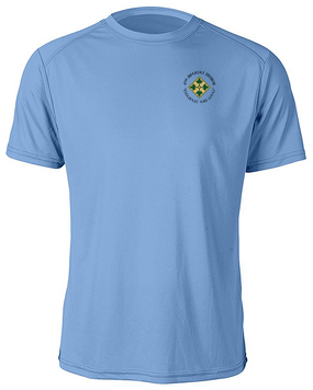 4th Infantry Division Moisture Wick Shirt  (C)