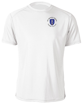 8th Infantry Division Moisture Wick Shirt  (C)