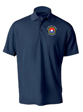 9th Infantry Division Embroidered Moisture Wick Polo (C)