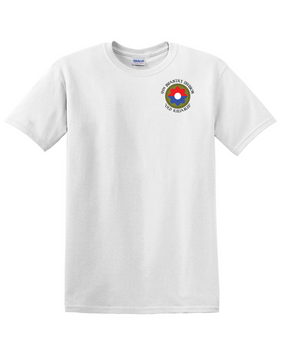 9th Infantry Division Cotton T-Shirt -Pocket