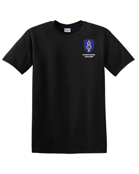 8th Infantry Division Cotton T-Shirt -Pocket