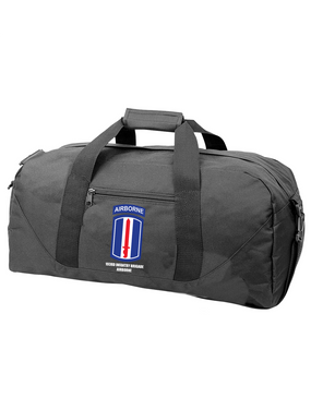 193rd Infantry Brigade Airborne Embroidered Duffel Bag