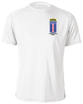 193rd Infantry Brigade Airborne w/ Ranger Tab Moisture Wick Shirt