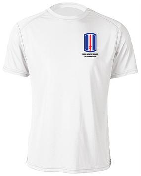 193rd Infantry Brigade Moisture Wick Shirt