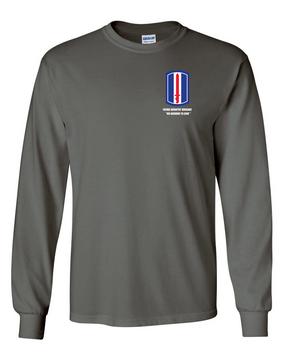 193rd Infantry Brigade  Long-Sleeve Cotton Shirt