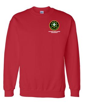 2nd Armored Cavalry Regiment Embroidered Sweatshirt