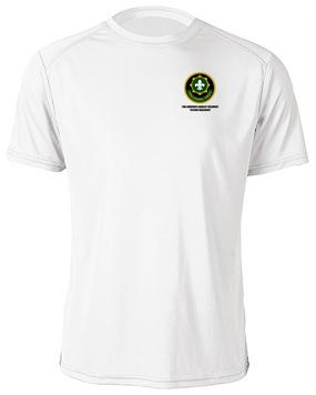 2nd Armored Cavalry Regiment Moisture Wick Shirt  -Pocket