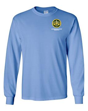 3rd Armored Cavalry Regiment Long-Sleeve Cotton Shirt  -Pocket