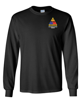 49th Armored Division Long-Sleeve Cotton Shirt  -Pocket