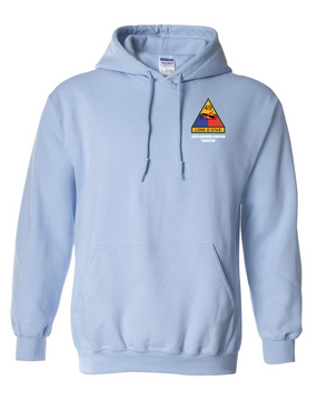 49th Armored Division Embroidered Hooded Sweatshirt