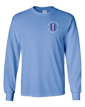 193rd Infantry Brigade Long-Sleeve Cotton Shirt  (C)