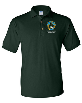 7th Cavalry Regiment Embroidered Cotton Polo Shirt