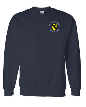 1st Cavalry Division Embroidered Sweatshirt (C)