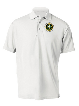 2nd Armored Cavalry Regiment Embroidered Moisture Wick Polo (C)