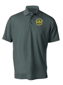 3rd Armored Cavalry Regiment Embroidered Moisture Wick Polo (C)