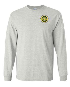 3rd Armored Cavalry Regiment Long-Sleeve Cotton Shirt  -Pocket (C)