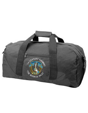 7th Cavalry Regiment Embroidered Duffel Bag (C)