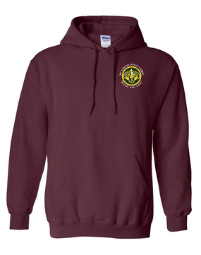 3rd Armored Cavalry Regiment Embroidered Hooded Sweatshirt  (C)