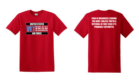 US Air Force Veteran Cotton T-Shirt -Arthritis-(FF)