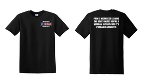 US Marine Corps Veteran Cotton T-Shirt -Arthritis-(P)