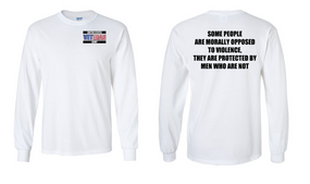US Army Veteran Long-Sleeve Cotton Shirt  -Morally- (P)
