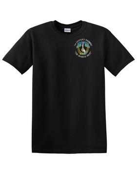 7th Cavalry Regiment Cotton T-Shirt -Pocket (C)
