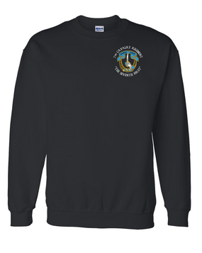 7th Cavalry Regiment Embroidered Sweatshirt  (C)